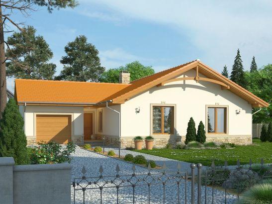 Projekt domu Mambo - widok 1