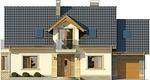 Projekt domu Aroma 2 - elewacja przednia