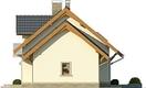 Projekt domu Aroma 2 - elewacja boczna 2
