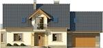 Projekt domu Aroma 2 2G - elewacja przednia