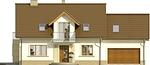 Projekt domu Enklawa 2 2G - elewacja przednia
