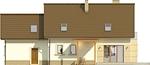 Projekt domu Enklawa 2 2G - elewacja tylna