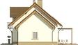 Projekt domu Enklawa 2 2G - elewacja boczna 2