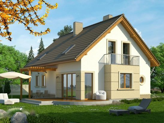 Projekt domu Enklawa 2 2G - widok 2