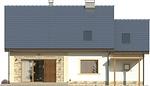 Projekt domu Estyma 2 - elewacja tylna