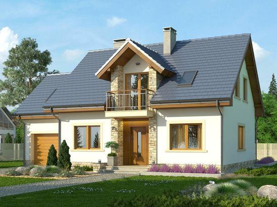 Projekt domu Estyma 2 - widok 1
