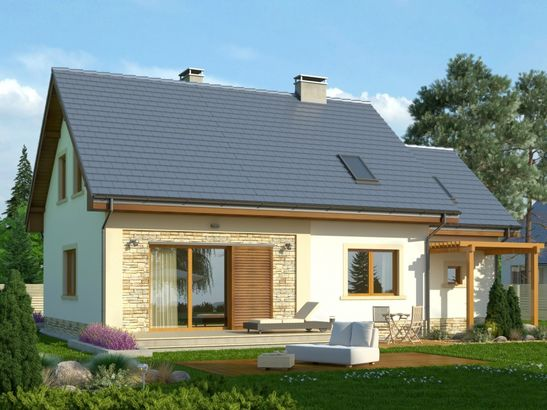 Projekt domu Estyma 2 - widok 2