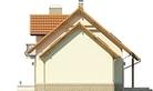 Projekt domu Granat 2 - elewacja boczna 2