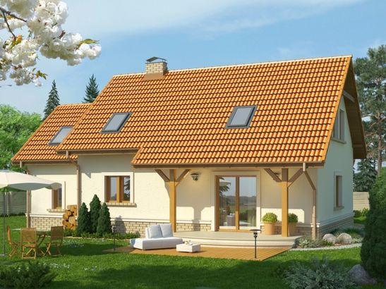 Projekt domu Granat 2 - widok 2