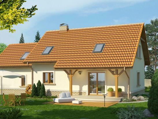 Projekt domu Granat 2 2G - widok 2