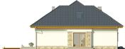 Projekt domu Amalfi 2 - elewacja boczna 1