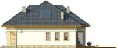 Projekt domu Amalfi 2 - elewacja boczna 2