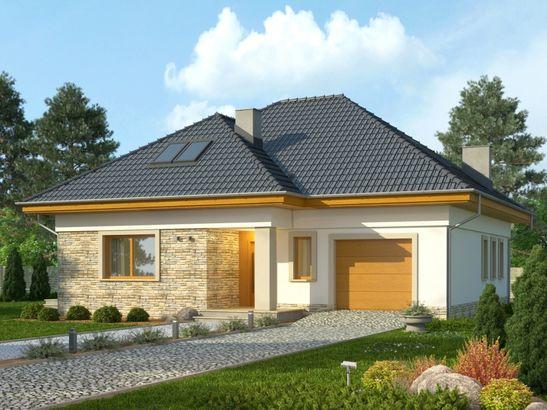 Projekt domu Amalfi 2 - widok 2