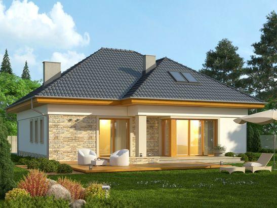 Projekt domu Amalfi 2 - widok 3
