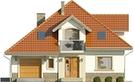 Projekt domu Amfilada 2 - elewacja przednia
