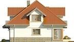 Projekt domu Amfilada 2 - elewacja boczna 1