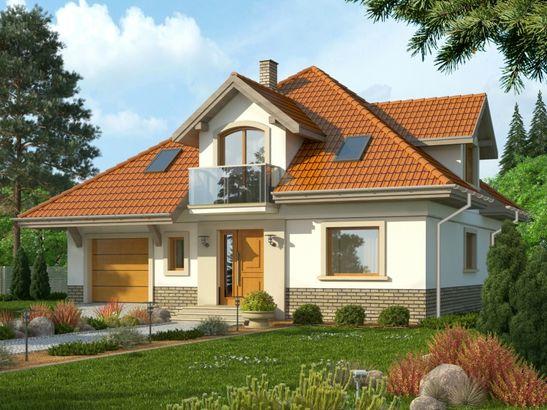 Projekt domu Amfilada 2 - widok 1