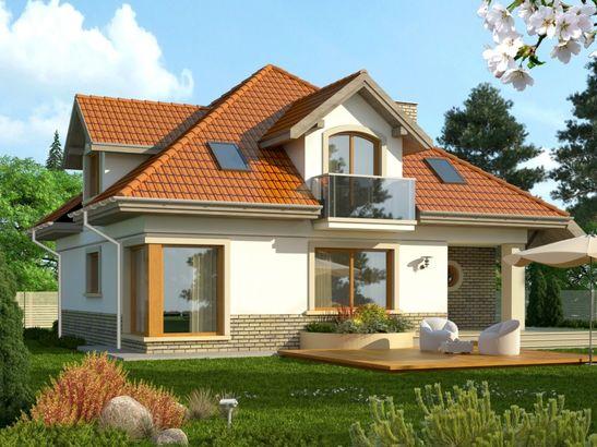 Projekt domu Amfilada 2 - widok 2