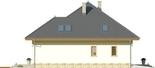 Projekt domu Malaga 2 - elewacja boczna 2
