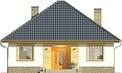 Projekt domu Kamyczek 2 - elewacja przednia