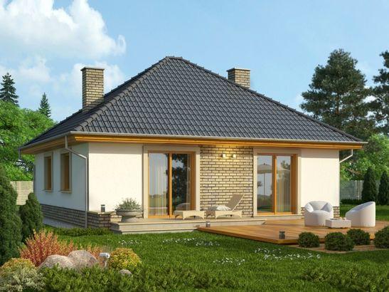 Projekt domu Kamyczek 2 - widok 2