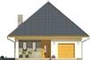 Projekt domu Eden 2 - elewacja przednia