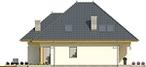 Projekt domu Eden 2 - elewacja boczna 1