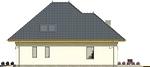 Projekt domu Eden 2 - elewacja boczna 2