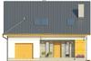 Projekt domu Omega 2 - elewacja przednia