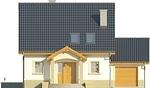 Projekt domu Lira 3 - elewacja przednia