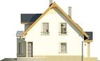 Projekt domu Lira 3 - elewacja boczna 1