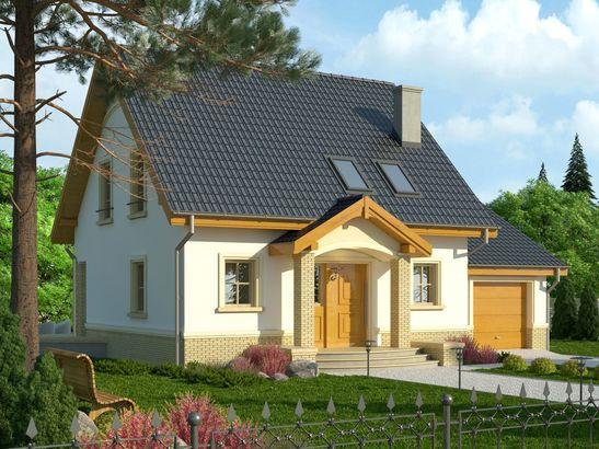 Projekt domu Lira 3 - widok 1