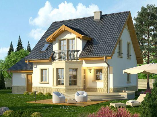 Projekt domu Lira 3 - widok 2