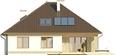 Projekt domu Melodia 2 - elewacja tylna