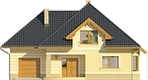 Projekt domu Mokka 2 - elewacja przednia