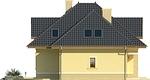 Projekt domu Mokka 2 - elewacja boczna 2