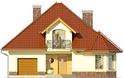 Projekt domu Viva 2 - elewacja przednia