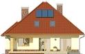 Projekt domu Viva 2 - elewacja tylna