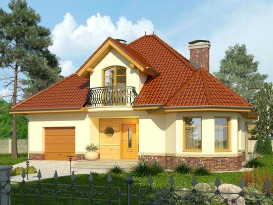 Projekt domu Viva 2 - widok 1