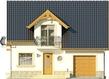 Projekt domu Nowela 3 - elewacja przednia