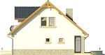 Projekt domu Nowela 3 - elewacja boczna 2