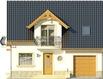 Projekt domu Nowela 4 - elewacja przednia