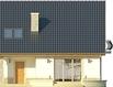 Projekt domu Nowela 4 - elewacja tylna