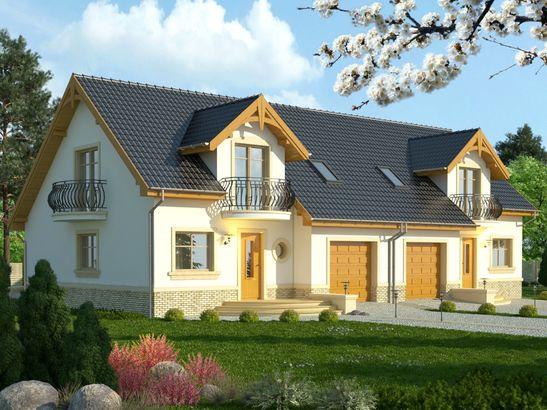 Projekt domu Nowela 4 - widok 1