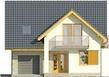Projekt domu Bella 5 - elewacja przednia