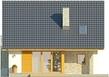 Projekt domu Bella 5 - elewacja tylna