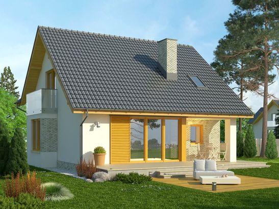 Projekt domu Bella 5 - widok 2