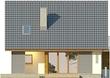 Projekt domu Bella 6 - elewacja tylna