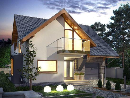 Projekt domu Bella 6 - widok 1