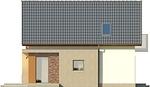 Projekt domu Tarot 2  - elewacja boczna 1
